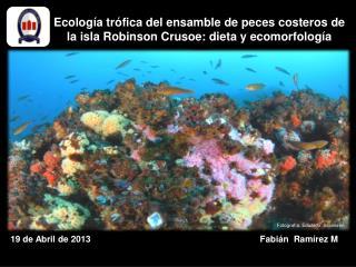 Ecología trófica del ensamble de peces costeros de la isla Robinson Crusoe: dieta y  ecomorfología