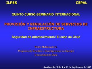 PROVISI N Y REGULACI N DE SERVICIOS DE INFRAESTRUCTURA