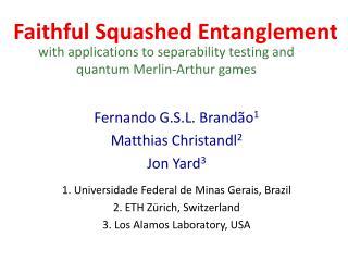 Faithful Squashed Entanglement