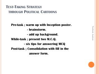 Test-Taking Strategy    through Political Cartoons