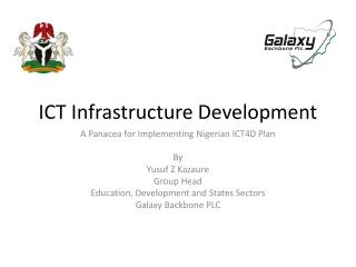 ICT Infrastructure Development