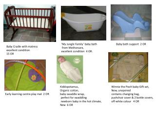 Winnie  the Pooh baby Gift set,