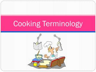Cooking Terminology