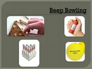 Beep Bowling