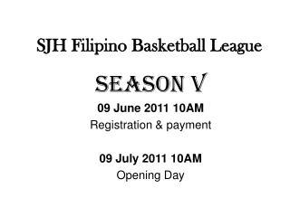 SJH Filipino Basketball League
