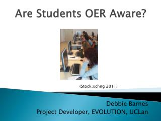 Are Students OER Aware?