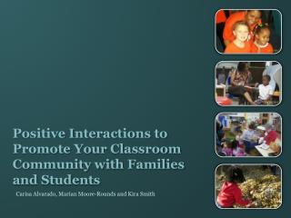 Positive Interactions to Promote Your Classroom Community with Families and Students