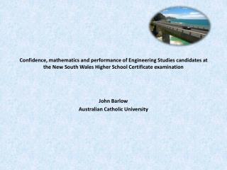 John Barlow Australian Catholic University