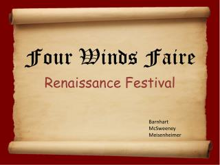 Four Winds Faire