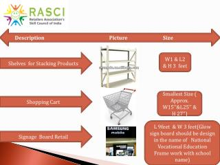 Shelves  for Stacking Products