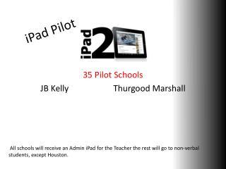 iPad  Pilot