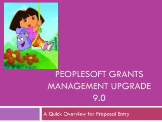 PeopleSoft Grants management Upgrade 9.0
