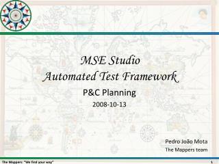 MSE  Studio Automated  Test  Framework