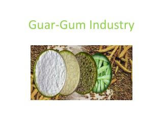 Guar-Gum Industry