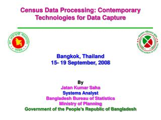 Census Data Processing: Contemporary Technologies for Data Capture