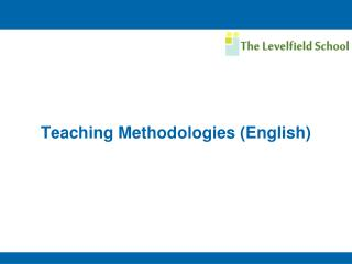 Teaching Methodologies (English)