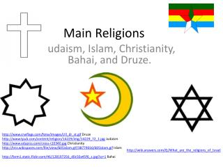 Main Religions