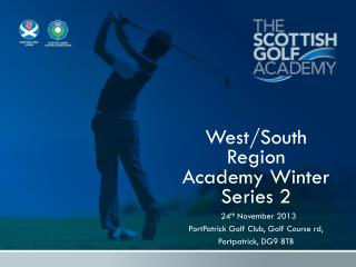West/South Region  Academy Winter Series 2