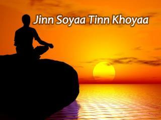 Jinn  Soyaa Tinn Khoyaa