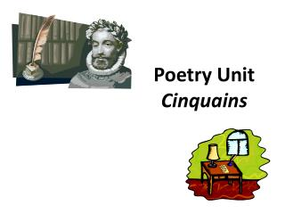 Poetry Unit Cinquains