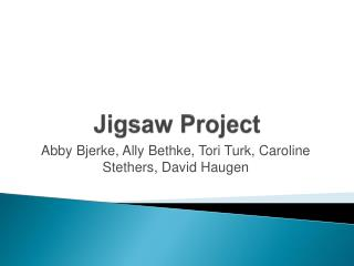 Jigsaw Project
