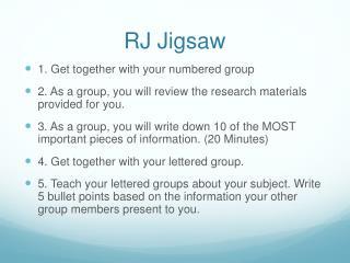 RJ Jigsaw