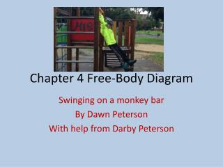 Chapter 4 Free-Body Diagram