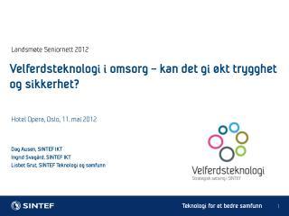Landsmøte Seniornett 2012