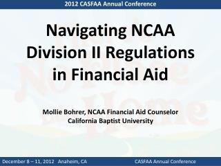 2012 CASFAA Annual Conference