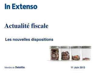 Actualité fiscale