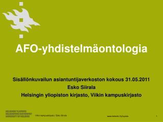 AFO- yhdistelmäontologia