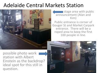 Adelaide Central Markets Station