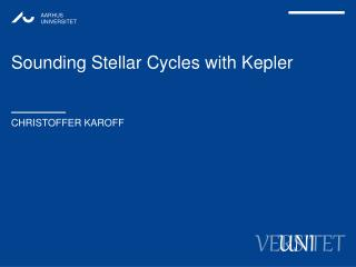Sounding Stellar Cycles with  Kepler