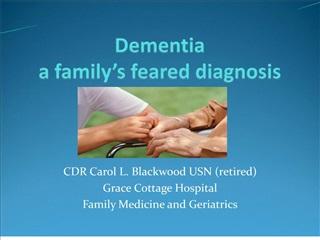 Dementia   a family s feared diagnosis