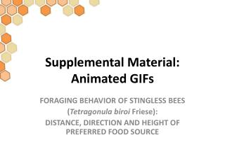 Supplemental Material: Animated GIFs