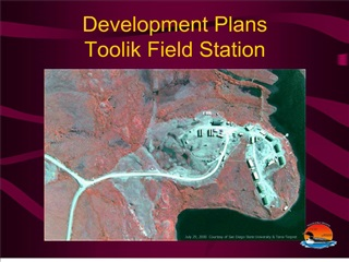 Development Plans Toolik Field Station