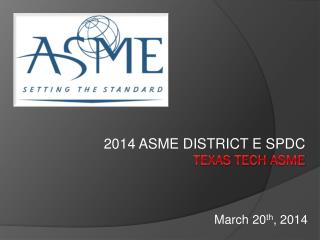 Texas Tech  asme
