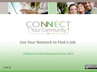 Use Your Network to Find a Job