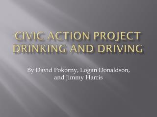 Civic  A ction Project Drinking and Driving