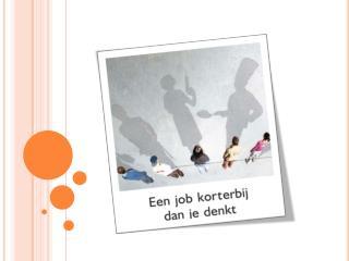 Samen  met  werk-zoekenden drempels  op/naar de  arbeidsmarkt overwinnen vanuit  hun vraag