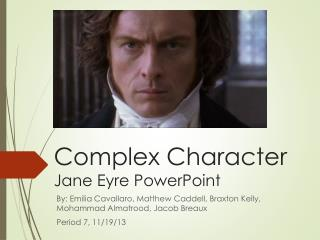 Complex Character Jane Eyre PowerPoint