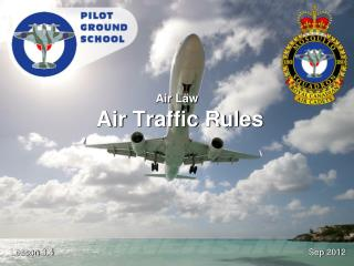 Air Law Air Traffic Rules