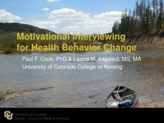 Motivational Interviewing for Health Behavior Change