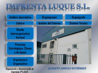 IMPRENTA LUQUE S.L.