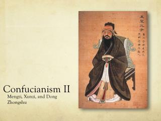 Confucianism  II
