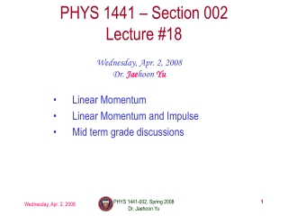 The Baseball-Bat Collision-II Lecture 8