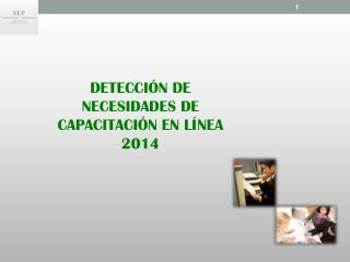 DETECCIÓN  DE NECESIDADES DE CAPACITACIÓN EN  LÍNEA 2014