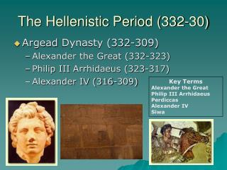 The Hellenistic Period (332-30)