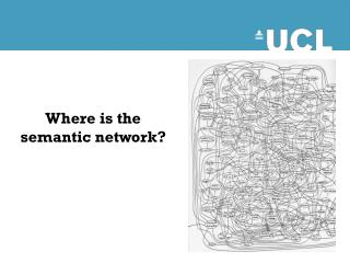 Where is the semantic network?