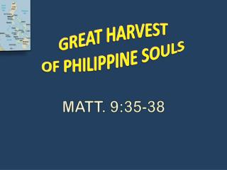 MATT. 9:35-38